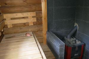 Sauna im Mökki